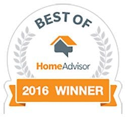 HomeAdvisor 2016 Best of Garage Door Services Award to Rolling Garage Doors & Gates, Alta, CA