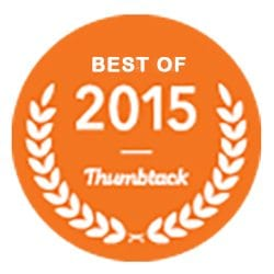 ThumbTack 2015 Best of Garage Door Services Award to Rolling Garage Doors & Gates, Alta, CA 95701,