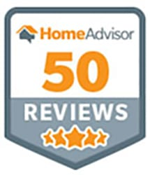HomeAdvisor 50+ Reviews Award for Garage Door & Gate Services Award to Rolling Garage Doors & Gates, Alta, CA 95701.